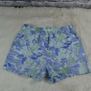 Vineyard Vines Cordia Floral Easy Shorts Birds Kid